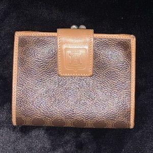 Celine wallet and coin purse macadam brown